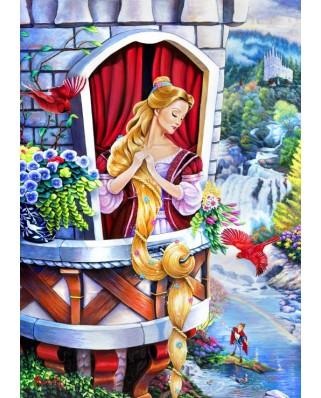 Puzzle Bluebird - Rapunzel, 1.000 piese (70107)