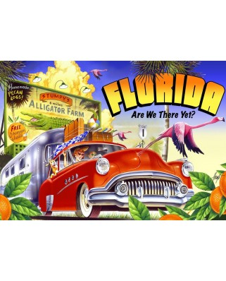 Puzzle Bluebird - Road Trip, 1500 piese (70106)
