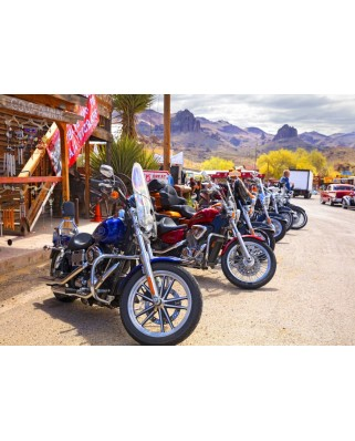 Puzzle Bluebird - RT 66 Fun Run Oatman Motorcycles 4-16 8377, 1000 piese (70067)
