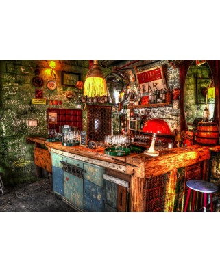 Puzzle Bluebird - Ruin Bar In Budapest, 1500 piese (70011)