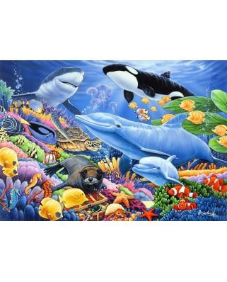Puzzle Bluebird - Sealife, 500 piese (70084)