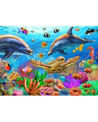 Puzzle Bluebird - Sealife, 500 piese (70189)
