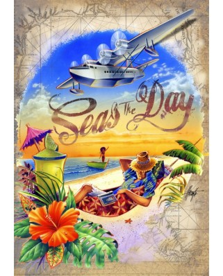 Puzzle Bluebird - Seas Day, 1500 piese (70105)