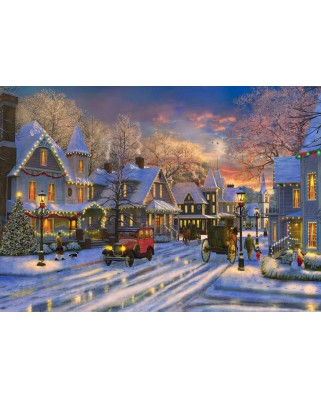 Puzzle Bluebird - Small Town Christmas, 1500 piese (70113)