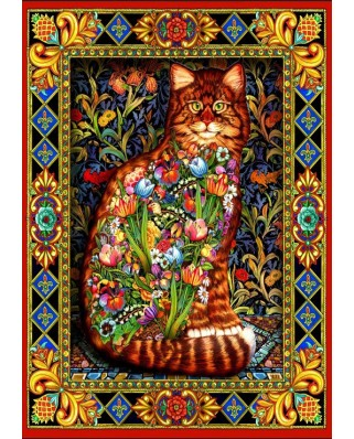Puzzle Bluebird - Tapestry Cat, 1500 piese (70153)