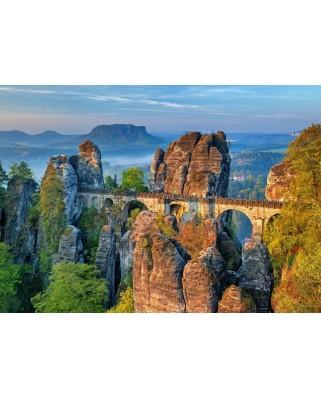 Puzzle Bluebird - The Bastei Bridge, 500 piese (70003)