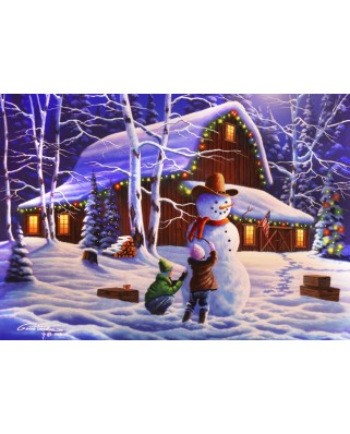 Puzzle Bluebird - The Joy Of Christmas, 1500 piese (70098)