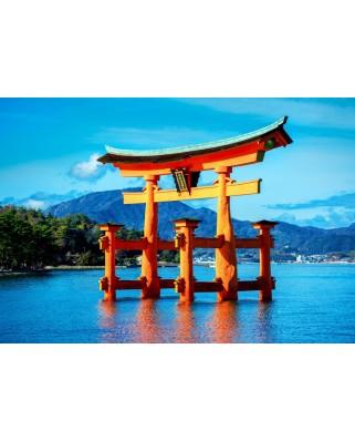 Puzzle Bluebird - The Torii Of Itsukushima Shrine, 1500 piese (70009)