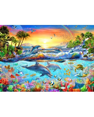 Puzzle Bluebird - Tropical Bay, 3.000 piese (70194)