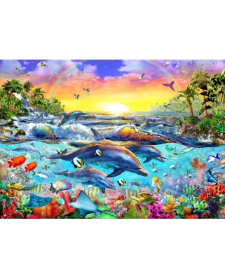 Puzzle Bluebird - Tropical Cove, 2.000 piese (70015)