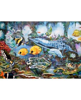 Puzzle Bluebird - Underwater World, 500 piese (70034)