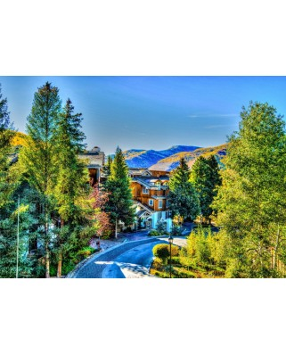 Puzzle Bluebird - Vail, Colorado, Usa, 1000 piese (70024)