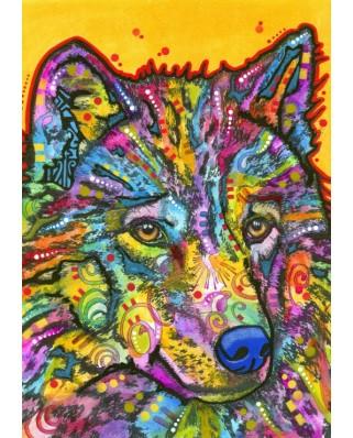 Puzzle Bluebird - Wolf, 1.000 piese (70092)