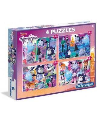 Puzzle Clementoni - Vampirina, 20, 20, 60 and 60 piese (07617)