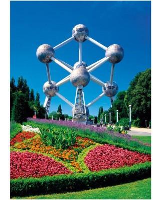 Puzzle Dino - Atomium, Brussels, Belgium, 1.000 piese (62939)