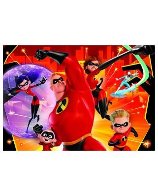 Puzzle Clementoni - Disney Pixar - The Incredibles 2, 104 piese (27106)