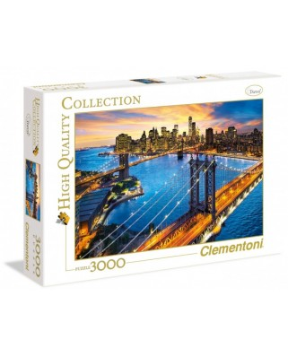 Puzzle Clementoni - New York, 3.000 piese (33546)