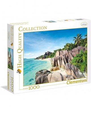 Puzzle Clementoni - Paradise Beach, 1.000 piese (39413)