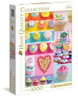 Puzzle Clementoni - Sweet Donuts, 1000 piese (39419)