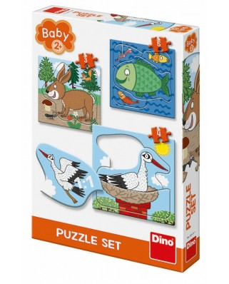 Puzzle Dino - Baby Puzzles, 38.445 piese XXL (62876)
