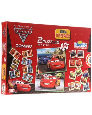 Puzzle Educa - Cars, 2x25 piese (14927)