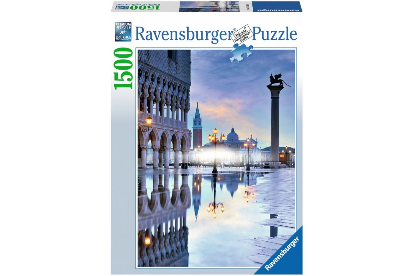 Puzzle Ravensburger - Venetia Romantica, 1.500 piese (16300)