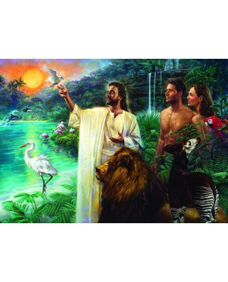 Puzzle Eurographics - Nathan Greene : Creation in Eden, 1.000 piese (6000-0356)