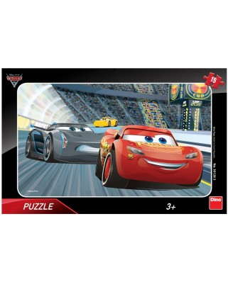 Puzzle Dino - Cars 3, 15 piese (62848)