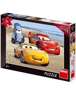 Puzzle Dino - Cars 3, 24 piese (62891)