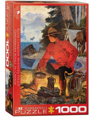 Puzzle Eurographics - Morning Campfire, 1.000 piese (6000-5352)