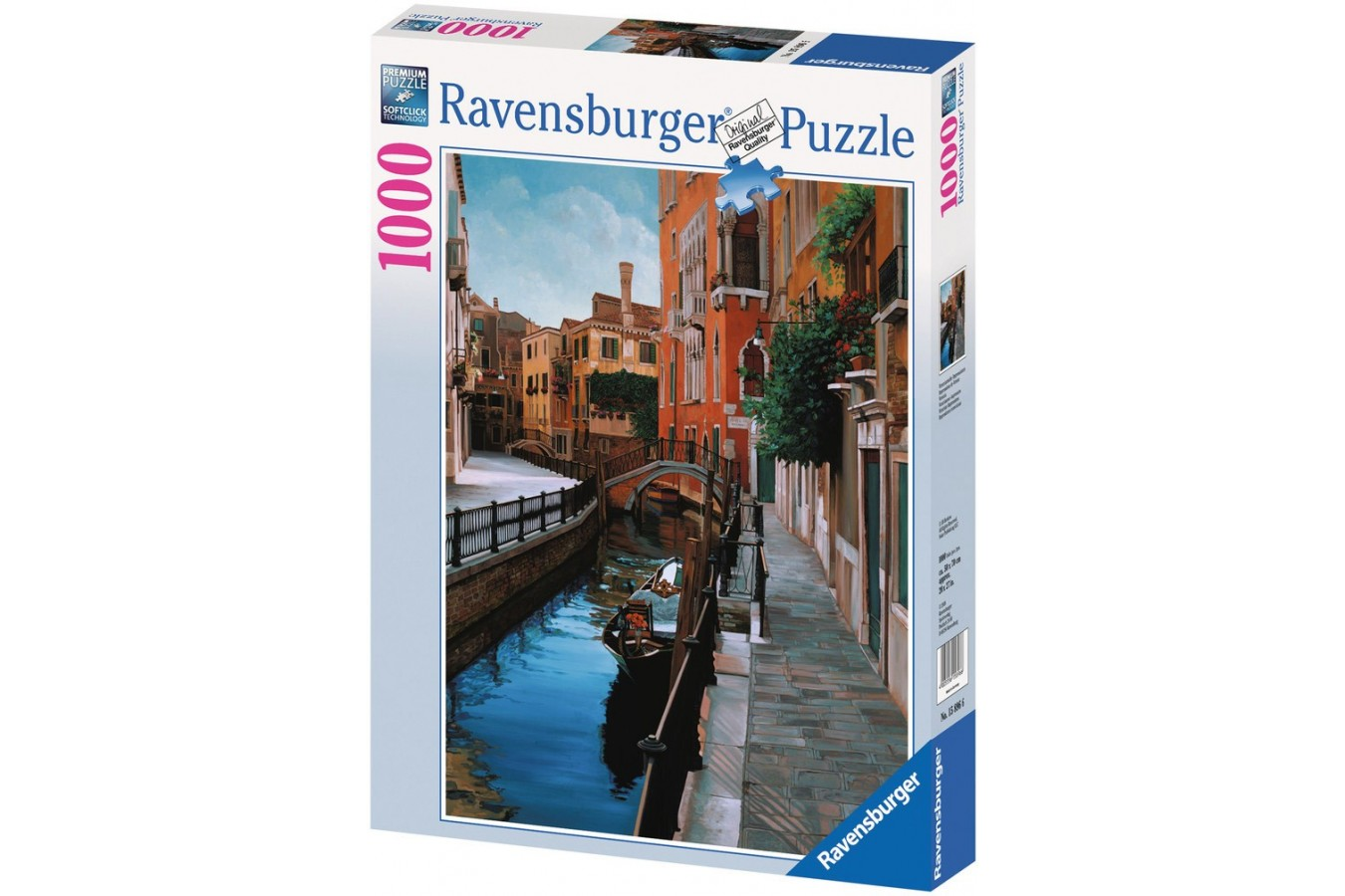 Puzzle Ravensburger - Venetia, 1.000 piese (15896)