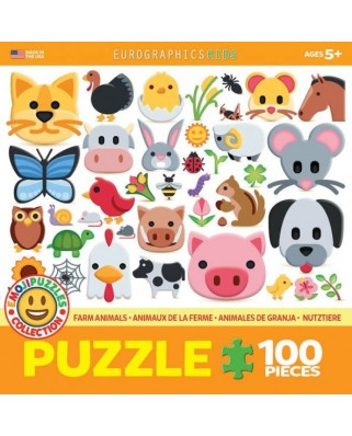 Puzzle Eurographics - Emoji, 100 piese (6100-5379)