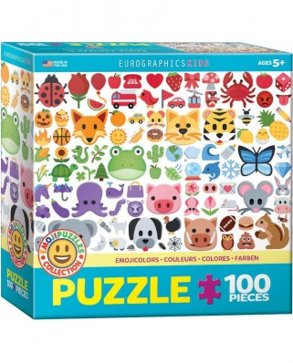 Puzzle Eurographics - Emoji, 100 piese (6100-5396)