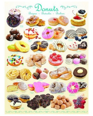 Puzzle Eurographics - Donuts, 1.000 piese (8000-0430)