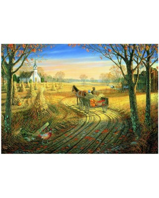 Puzzle Eurographics - Sam Timm : Harvest Time, 1.000 piese (8000-0606)