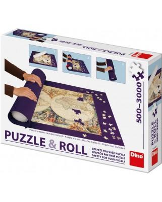 Covor pentru rulat puzzle Dino, 500-3000 piese (65164)