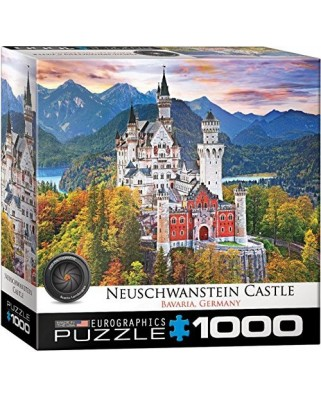 Puzzle Eurographics - Neuschwanstein Castle Germany, 1.000 piese (8000-0946)