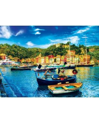 Puzzle Eurographics - Portofino Italy, 1.000 piese (8000-0948)