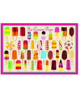 Puzzle Eurographics - Ice Cream Pops, 100 piese mini (8104-0520)