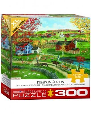 Puzzle Eurographics - Pumpkin Season, 300 piese XXL (8300-5387)