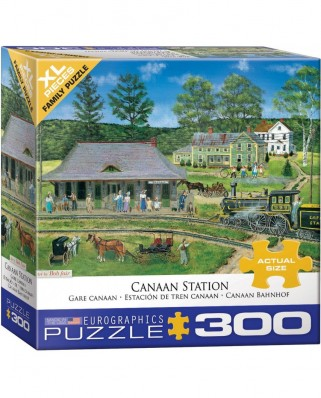 Puzzle Eurographics - Canaan Station, 300 piese XXL (8300-5388)
