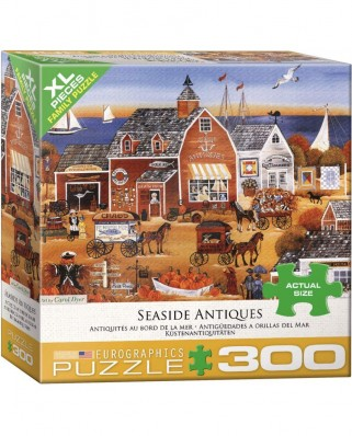 Puzzle Eurographics - Seaside Antiques by Carol Dyer, 300 piese XXL (8300-5390)