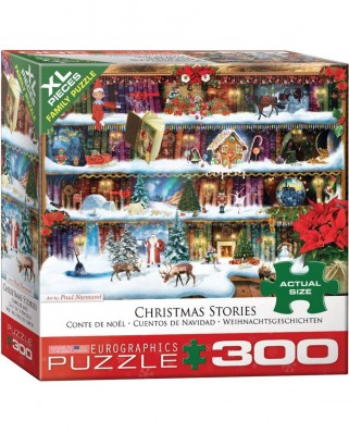 Puzzle Eurographics - Christmas Tales, 300 piese XXL (8300-5397)