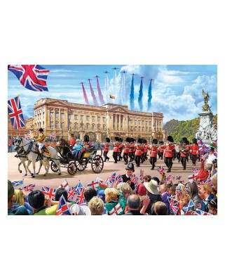 Puzzle Gibsons - Steve Crisp: Buckingham Palace, 500 piese (G3401)