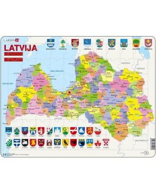 Puzzle Larsen - Latvia, 70 piese (A10-LE)