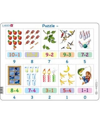 Puzzle Larsen - Mathematics, 20 piese (AR19)