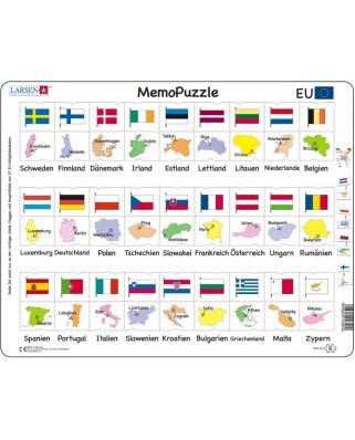 Puzzle Larsen - MemoPuzzle (in German), 54 piese (GP2-DE)