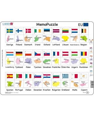 Puzzle Larsen - MemoPuzzle (in Swedish), 54 piese (GP2-SE)