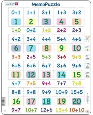 Puzzle Larsen - MemoPuzzle, 40 piese (GP3)