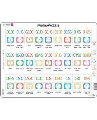 Puzzle Larsen - MemoPuzzle (in German), 54 piese (GP5-DE)